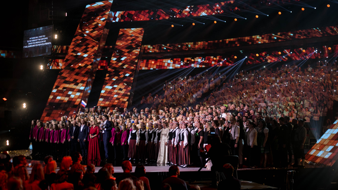 Invigningskonsert European Choir Games Gothenburg 2019 med Eurovision Choir