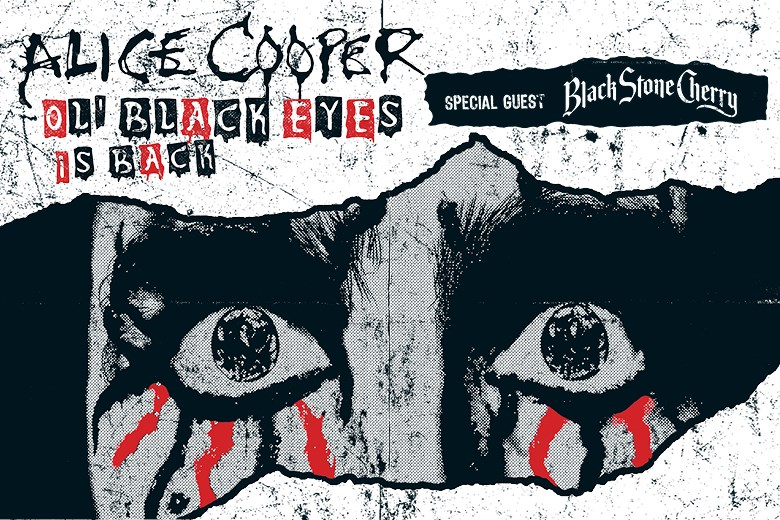 ALICE COOPER OL' BLACK EYES IS BACK